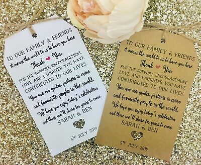 Welcome Bag Tags, Hotel Bag Labels For Wedding Abroad / Destination, Thank You  - Hotel Welcome Bags