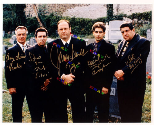 The Sopranos cast Autographed Signed 8x10 Photo Reprint