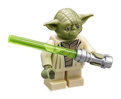 LEGO Star Wars Yoda with Lightsaber Minifigure (75168)