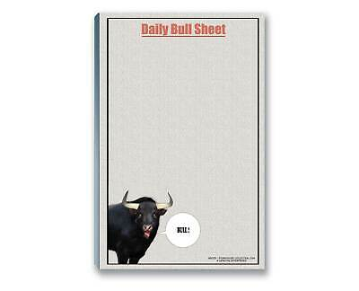 Funny Bull To-do List Magnetic Notepad - 5.5 X 8.5- 50 Sheets Per Pack - 45003