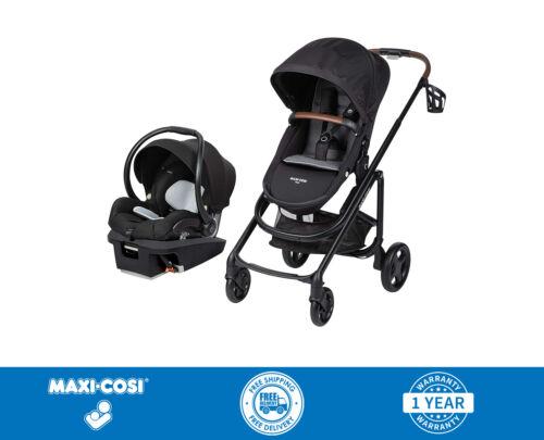 Maxi Cosi Tayla Travel System Stroller w/ Coral XP Car Seat New - Black