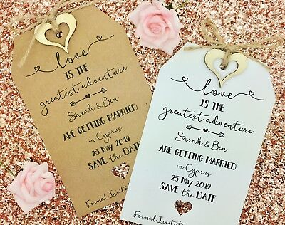 Wedding Abroad, Destination Wedding, Save The Date Invitation, Lets Fly - Save The Date Destination Wedding
