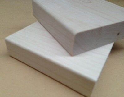 Wood Mounts for Rubber Stamps, Wood Blocks, Maple Wood Mounts for Stamps, 2 X 2