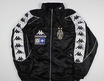 Rare Vintage 90s Juventus Kappa Jacket Size Large Football Soccer Italy Italia
