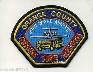Airport John Wayne Airport C F R Orange County Ca 4 5 X 3 5 Fire Patch