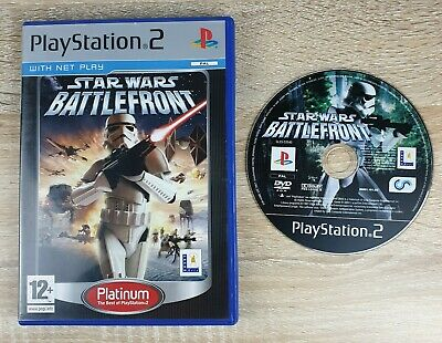 Star Wars: Battlefront(Sony PlayStation 2, 2005)Platinum ~ PAL/UK ~ VGC