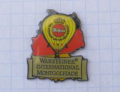 WARSTEINER BIER / WIM ................. Bier-Ballon-Pin (104d)