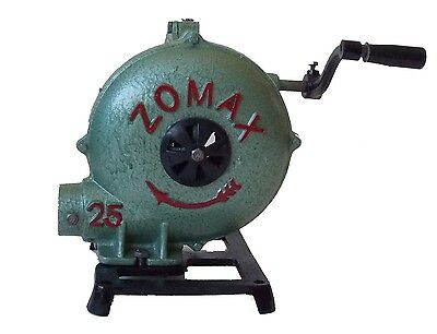 A Better Blacksmith Forge Blower    New Hand Crank Manual Fan