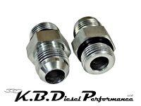 ICT Billet 551121-8AN Transmission Cooler Line Adapter Fitting GM 6L80 6L90 8L90