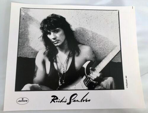Richie Sambora 1991 AUTHENTIC PRESS/PROMO 8x10 PHOTO MERCURY RECORDS BON JOVI