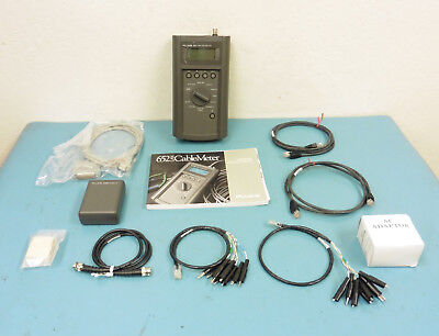 Fluke 652 Lan Cablemeter W Accessories And Carrying Case