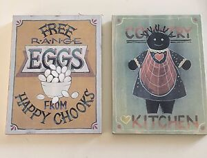 Country Kitchen Wall Plaques Acacia Gardens Blacktown Area Preview