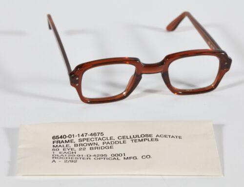 NEW Military Surplus Vintage Eyeglass Frames BCG Birth Control Glasses