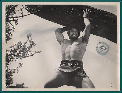 """DAN VADIS in """"The Rebel Gladiators"""" - Original Vintage Photo - 1962"""