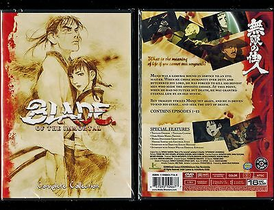 Blade Of The Immortal  Complete Series   Brand New 3 Dvd Anime Set