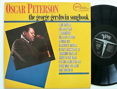 OSCAR PETERSON THE GEORGE GERSHWIN SONGBOOK VERVE LP