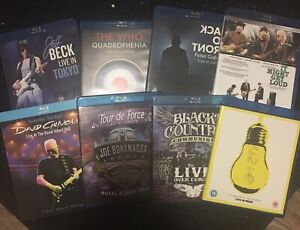 MUSIC CONCERT BLU RAYS FOR SALE!