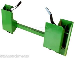 John Deere to Skid Steer Quick Attach Adapter 200 300 400 500 tractor loader