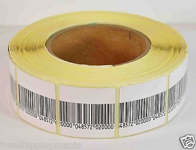 Eas Anti-theft Security Checkpoint Soft Label Tag 2000pcs 8.2 Mhz 40mmx40mm