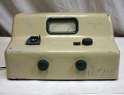 Bausch Lomb Spectronic 20 Spectrometer Spectrophotometer 33-29-40
