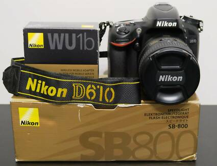 Nikon D610 Digital SLR Bundle