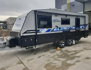 **NEW** JUST CARAVANS CLUBHOUSE - 2 BUNKS SEPARATE SHOWER TOILET Epping Whittlesea Area Preview