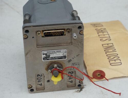 1978 Garrett AiResearch XDCR Total Pressure Transducer 2100538-4 NASA Aerospace