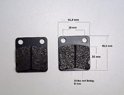 Bremsbeläge Satz (2 Stück)  Quad ATV Bashan hinten 150/200/250 ccm (m15) neu