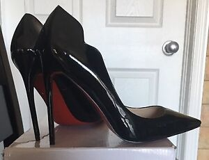 Size 11 patent pumps. Never worn