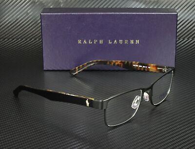 RALPH LAUREN POLO PH1157 9038 Matte Black Demo Lens 53 mm Men's Eyeglasses