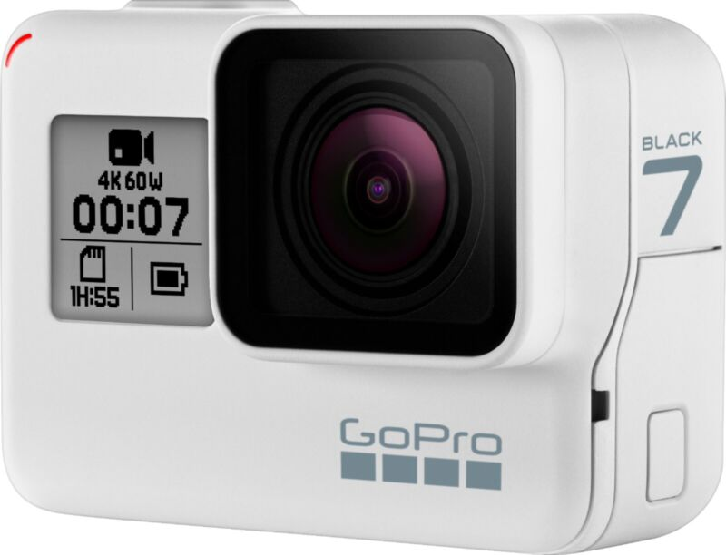 GoPro HERO7 Black (Limited Edition Dusk White) - New Without Box + 32GB SD Card