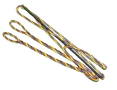 "60X Custom Strings 53/"" 57 AMO 18 Strand Black Dacron B50 Recurve Bowstrings Bow"