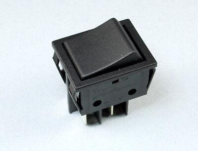 1932.3112 ROCKER DPST Schaltstellungen 2 OFF-ON 20A//250VAC schwarz