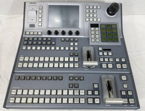 Sony MFS-2000 16 Input Multi Format HD Switcher with MKS-2015 Control Panel