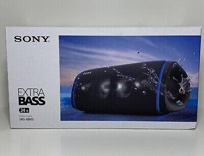 SONY SRS-XB43 Portable Bluetooth Speaker Waterproof EXTRA BASS