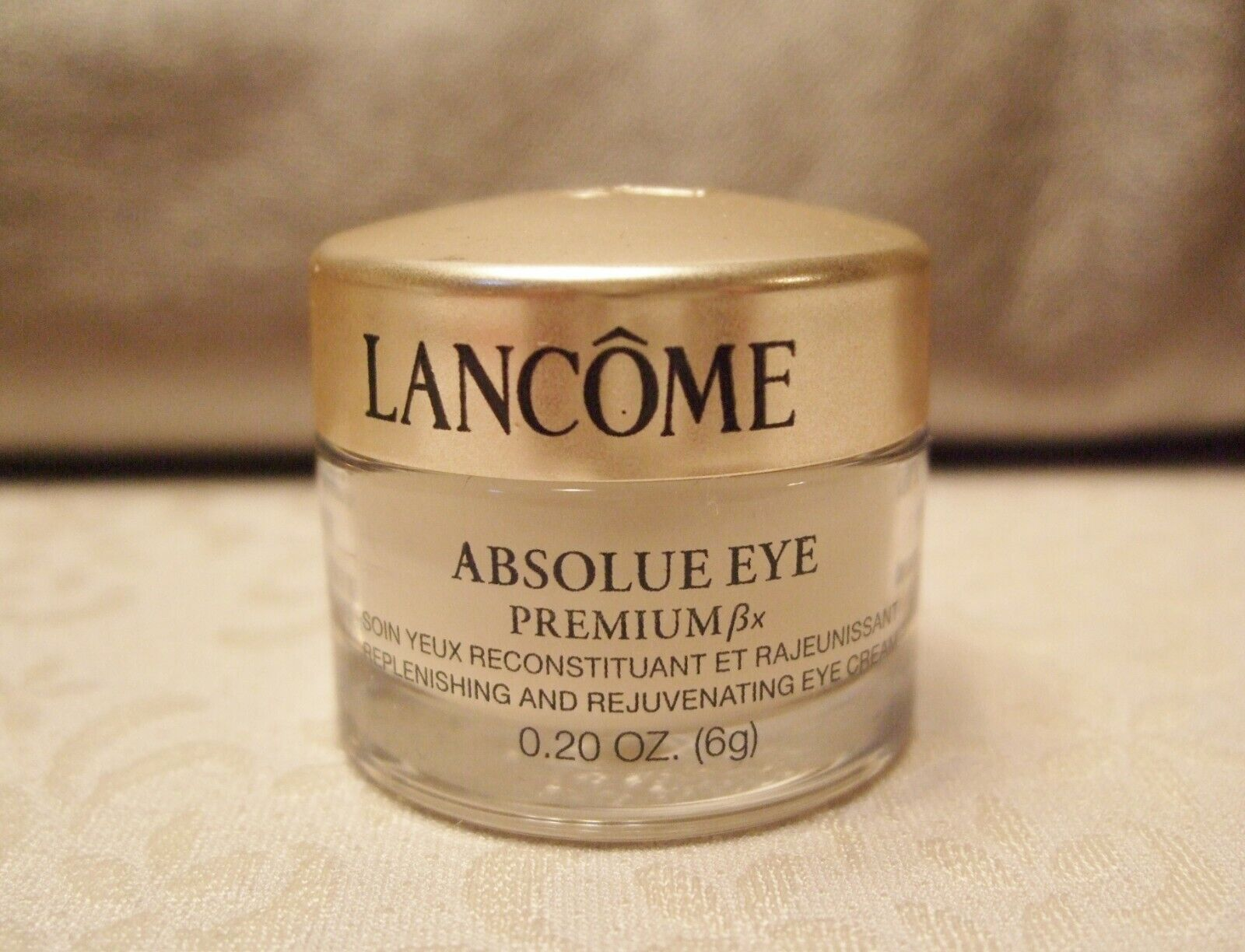 Lancome Absolue EYE Premium Replenishing Rejuvenating Eye Cream .20 Oz Trial Sz - $9.87