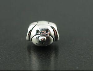 Original Pandora Element Charm 791707 Liebevoller Hund NEU 925 Sterling Silber