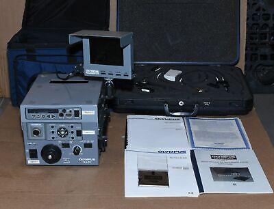 Olympus Iv6c6-13 Ntsc Tapered Flex Videoscope Borescope Dsm-2 Ilv-c1 Iv-6a Wlcd