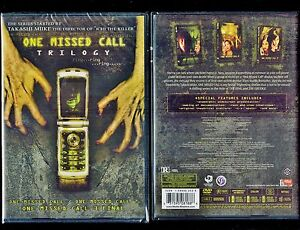 One Missed Call Trilogy - Brand New 6-Disc Set - Japanese Horror