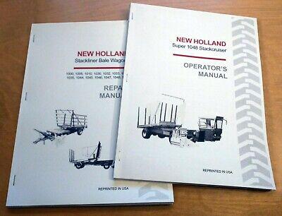 New Holland Super 1048 Stackcruiser Bale Wagon Operators And Service Manual