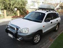 2003 Hyundai Santa Fe Wagon with rego and lot of camping stuff St Kilda Port Phillip Preview