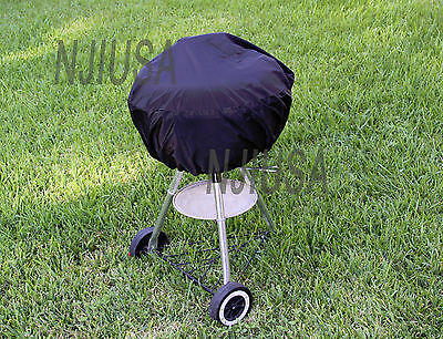 "Round Charcoal Kettle BBQ Grill 26"" - 31"" Diameter EZ Use Co"
