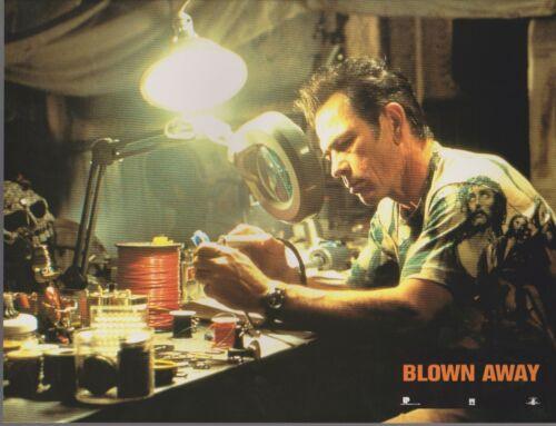 Jeff BRIDGES - Tommy Lee JONES  12 French Lobby Cards  BLOWN AWAY
