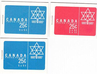 Canada Booklets #BK54, BK55