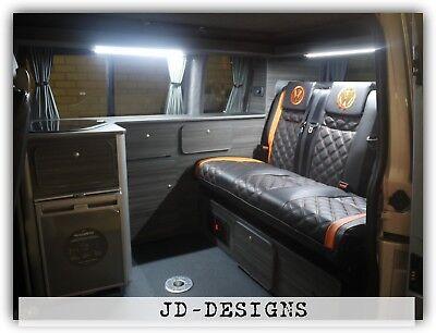 Vw Transporter T5 T6 Camper Van Slimline Kitchen Unit For RIB 129 130 Bed System