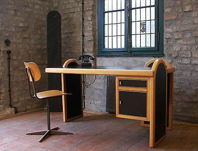 Gesellenstück Schreibtisch Damen-Schreibtisch Unikat Design Möbel Handarbeit