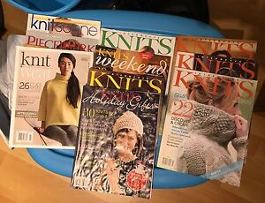 Lot of Interweave Knits Publications $20