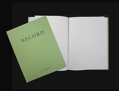 Green Military Log Book Record Book Memorandum Book 8 X 10-12 Green Log Book...