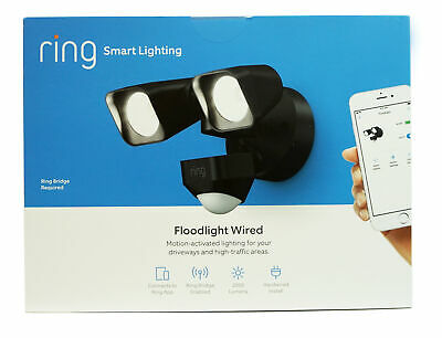 Ring  Smart Lighting Motion-Activated 2000-Lumen Wired Flood