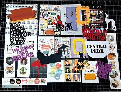- FRIENDS Scrapbook Kit. Friends TV Show,  Scrapbook, Project Life, Paper,  NBC